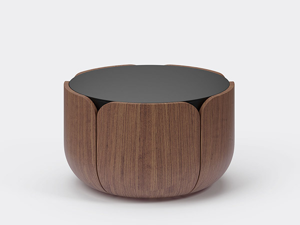 Bloom Noir Coffee Table M